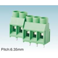 Buy cheap Green PCB Screw Female Terminal Block , 0.8MM2 to 25MM2 , 2.54MM To 15.0MM Pitch from wholesalers
