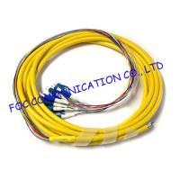 Wholesale Fan Out LC / UPC pigtail fiber optic 12 Core With High Tensile Strength from china suppliers