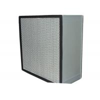 Wholesale Washable Cleanroom HEPA Air Filter for Filtration System , Anodized Aluminum Frame from china suppliers