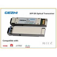 Wholesale 10Gbps XFP Optical Transceiver / fiber transceiver 40km Reach LC Connector from china suppliers