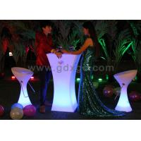 Wholesale Glowing LED Cocktail Table , Led Lighting Equipment For Outdoor / Indoor from china suppliers