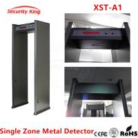 Wholesale Dark Gray Door 1 Zone Body Walk Through Metal Detector Device Energy Saving from china suppliers