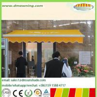 Buy cheap Chinses awning supplier for  motorized and manual control retractable awning from wholesalers