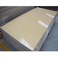 Quality PVC panel with UV coating /Faux marble wall panel for sale