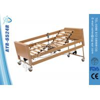 Wholesale 5 Functions Wooden Foldable Homecare Bed Patient Bed For Home Use Medicare from china suppliers