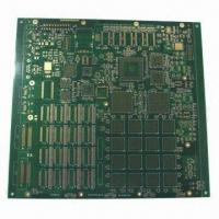 Quality 12-layered Board with ENIG Surface Finish and 0.2mm Minimum Via Diameter for sale