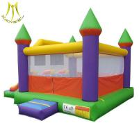 Wholesale Hansel stock largest inflatable bouncer castle with slide in amusement park in China from china suppliers