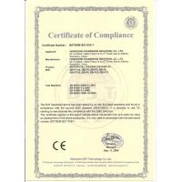 HONGKONG SOUNDBOSS INDUSTRIAL CO LTD Certifications