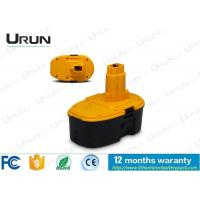 Wholesale High Capacity Dewalt 18V Battery Pack , Yellow And Black Color from china suppliers