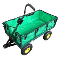 China Steel Meshed Garden Cart with Canvas Bag TC1804A-N on sale