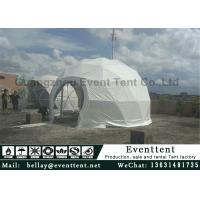 Wholesale Clear Walls Large Dome Tent With Hot Galvanized Steel Frame 6m Diameter from china suppliers