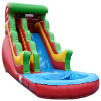 Wholesale Fashionable Kids Backyard Inflatable Water Slide With Digital Print from china suppliers
