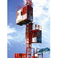 Quality Customized Color Construction Material Hoists , Construction Elevator With 36m / Min To 96m / Min Speed for sale