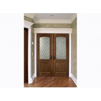 Wholesale Inward Swing Custom Timber Doors For Residential Building / Houses from china suppliers