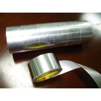 Wholesale hot melt Rubber Aluminium Foil Tape , high Temperature Adhesive high temp foil tape from china suppliers