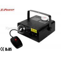 Wholesale 3*3w RGB LED Crystal Ball Portable Fog Machine 400w For Small Party, Dj Club, KTV   X-02 from china suppliers