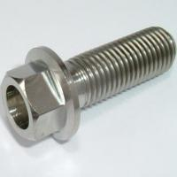 Quality Titanium Flanged Hex Head Bolts for sale