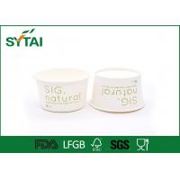 Wholesale FDA / SGS / ISO9001 Recycled Salad Paper Bowl For Fresh Fruit And Vegetables from china suppliers