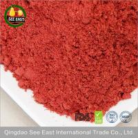 Wholesale healthy ingredient Chinese food freeze dried crushed strawberry