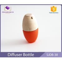 Wholesale Frosted Bottle Hanging Car Air Freshener Essential Oil Car Diffuser Orange from china suppliers