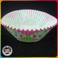 Wholesale Coloful Baking Paper Cake Cups for Disposable using from china suppliers