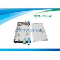 Quality Wall Mount Fiber Termination Box Lightweight FTTH LC PC Patch Cord for sale