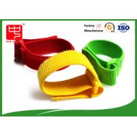 Wholesale Reuseable Elastic hook and loop Straps with buckle , adjustable nylon straps  cable tidy from china suppliers