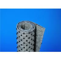Quality Carpet base fabric needle punched nonwoven with anti slip underlay for sale