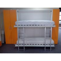 Wholesale Pull Down Bunk Wall Beds , Double Wall Beds , E1 Grade Material White Color from china suppliers