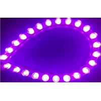 Wholesale IP68 DIP Flexible Purple Car Led Strip Lights for Thin light box , 24cm 48cm 72cm 96cm 120cm from china suppliers