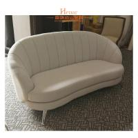 Wholesale Three Seats Fabric Home and Hotel Lobby Sofa with Stainless Steel Leg from china suppliers