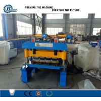 Wholesale 820 Model Metal Steel IBR Roof Panel Roll Forming Machine / Roof Sheet Making Machine from china suppliers