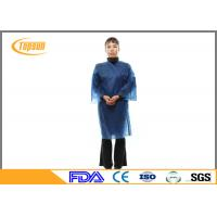 Wholesale Dark Blue Disposable SPA Products Bath Robes , Custom SPA Robes for Hotel from china suppliers