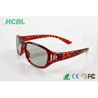 Quality Clip on Virtual reality Readl 3d glasses circular polarization for cinema use for sale
