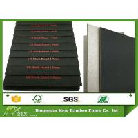 Wholesale Laminated C1S Black Paper with Grey Back 1.9mm Solid Grade A Paper Board from china suppliers