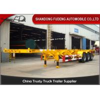 Wholesale 45ft 40ft Chassis Container Trailer BPW Axle FUWA Axle 12 Wheeler from china suppliers