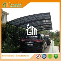 Wholesale 550 X 300 X 230CM Black Color Easy DIY Polycarbonate & Aluminum Carport from china suppliers