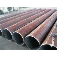 Wholesale Round Welded LSAW Steel Pipe , Longitudinal Submerged Arc Welding Pipe 60mm - 3500mm from china suppliers