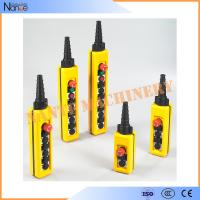Wholesale 2 Speed Wireless Hoist Pendant Control Stations For Construction Machinery from china suppliers