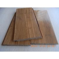 Wholesale Carbonized Strand Woven Bamboo Flooring, Click lock from china suppliers