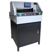 Buy cheap E460R Paper guilotine,paper guillotine cutter,paper cutting machine with New design,High Precision,CE Certificate from wholesalers
