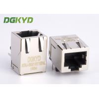 Wholesale 21.3mm length tap down RJ45 shielded connector without transformer for Net Card from china suppliers