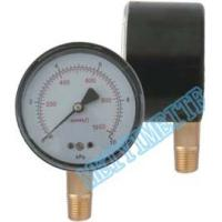 Wholesale Black Steel Case / Snap On Lens Low Pressure Gauge Capsule Type Brass Internals from china suppliers