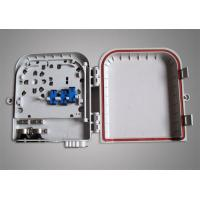 Wholesale FTTB Ultra Violet Resistant Mini 16 Core ST / LC Fiber Optic Terminal Box from china suppliers