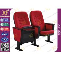 Wholesale Solid Wood Armrest Church Chair Stadium Theater Seating With Steel Leg from china suppliers
