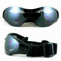 Wholesale Sports Sunglasses with Polycarbonate Frame and Lens, SBR Foam Comfortable for Wearing from china suppliers