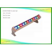 Wholesale 12pcs Outdoor / Indoor LED Wall Wash Lights Tri Color 24 X 3w for Stage Party from china suppliers