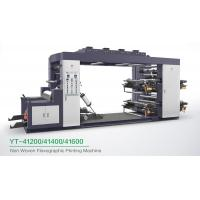 Wholesale High Speed 4 Colour Flexographic Printing Machine For Paper Printer / Label Printer from china suppliers