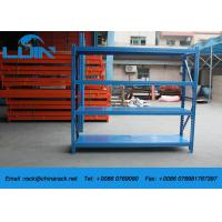 Wholesale Workshop Adjustable Metal Warehouse Shelving , 300kg / Level Metal Shelving Racks from china suppliers