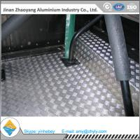 Quality 2.5mm Aluminium Alloy Sheet Aluminum Stair Checker Plate 5 Bars 3003 H14 / H24 for sale